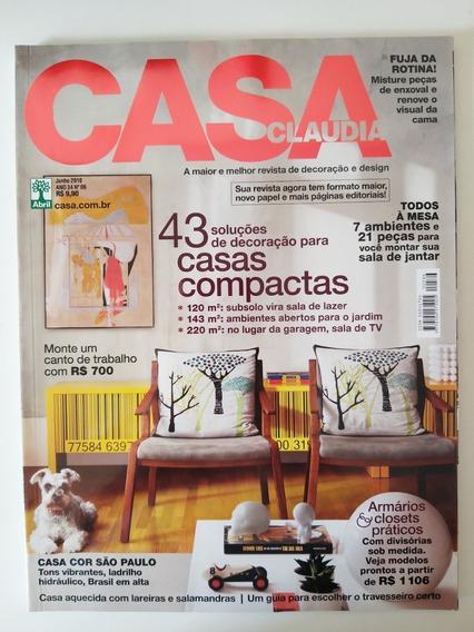 Revista Casa Claudia 586 De Junho De 2010