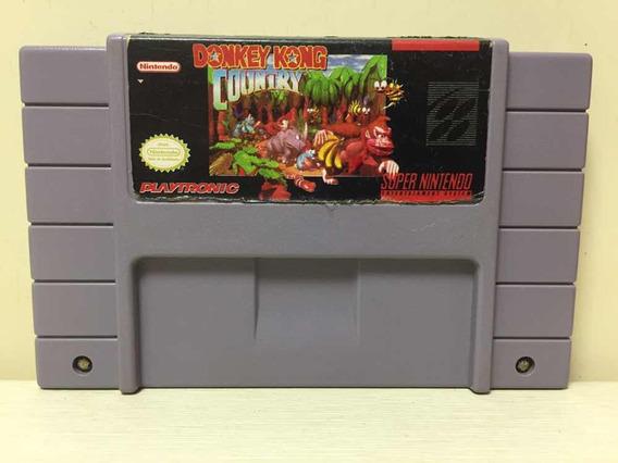 Donkey Kong Country Original Snes Super Nintendo Playtronic