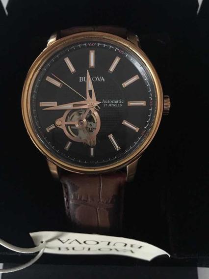 Reloj Bulova Original 97a109 Mecánico De Cuerda Automática