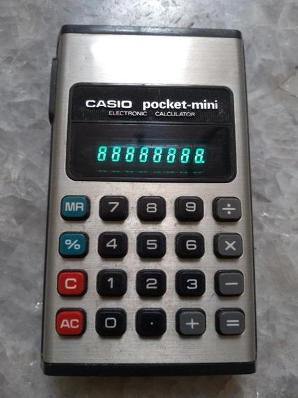 Calculadora Casio Pocket Mini