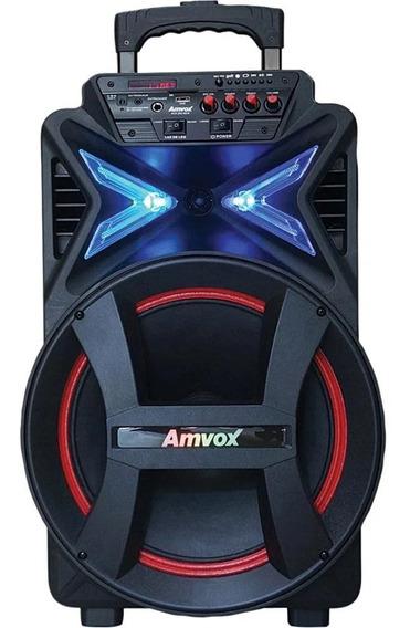 Caixa Som Amplificada Portátil Bluetooth 400w Rms Mp3