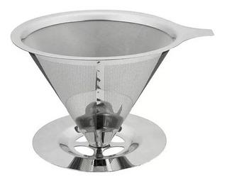 Coador / Filtro De Café Permanente Aço Inox 12,5cm