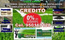 Grass Sintético Instalado $10,todo Peru,3 Obsequios,0%credit