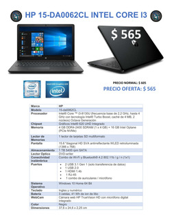 Laptops Notebook Hp Asus Lenovo