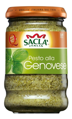 Pesto Alla Genovese Saclá 190g.