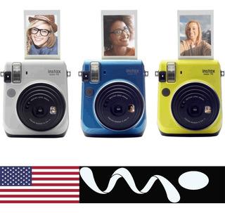 Fujifilm Instax Mini 70 Camara Instantanea Imprime Fotos