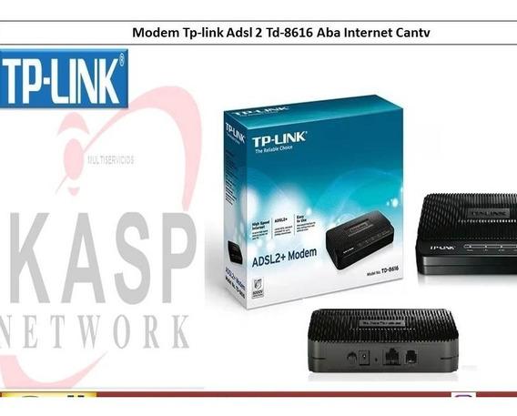 Modem Tp-link Adsl 2 Td-8616 Aba Internet Cantv