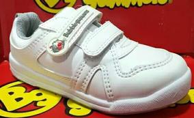 Zapatos Escolar Original Bubble Gummers Para Niña O Niño.
