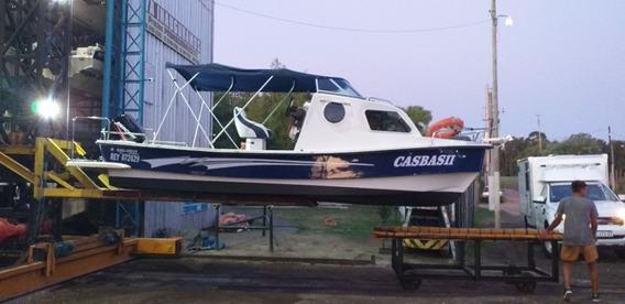 Lancha Tracker Naval Center Cabinado Mercury 90hp