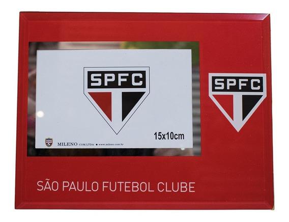 Porta Retrato De Vidro 1 Foto 10x15cm - Spfc