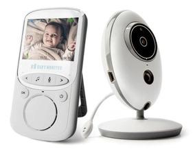 Babá Eletrônica Câmera Sem Fio Visão Noturna Lcd Digital 2.4