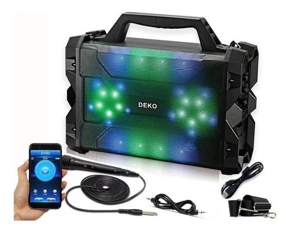 Caixinha De Som Bluetooth Amplificada Sem Fio Recarregável