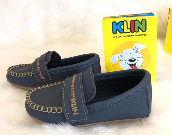 Sapato Cravinho Menino Infantil Klin - 16328