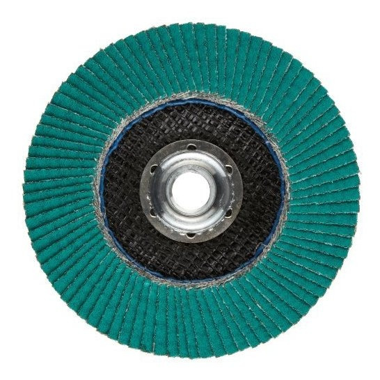 3m Flap Disc 577f, T29, Alumina Zirconia, Dry/wet, 4-1/2