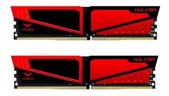 Memoria Team Group T-force Vulcan 16gb (2x8) 2666mhz Ddr4 Ve