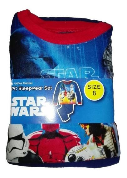 Pijama Star Wars 2 Piezas Talla 8 Niño Navidad Regalo Amor