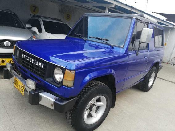 Campero Mitsubishi Azul En Perfecto Estado Documentos Al Dia