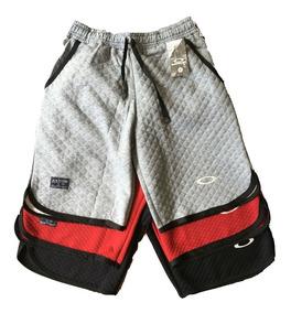 Kit Com 3 Shorts Bermudas De Moletom Masculinos Oakley