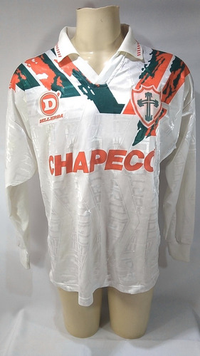 Camisa Futebol Jogo #2 Manga Longa Portuguesa 1995 Dellerba