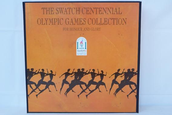 Coleção De Relógios Swatch Olimpíadas De Atlanta 1996