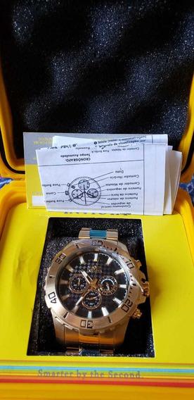 Relógios Invicta Original Pro Drive 22589 E Com Nota Fiscal