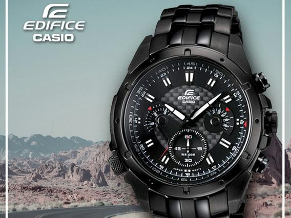 Reloj Casio Edifice Ef-535bk Original ( Solo Pedido)