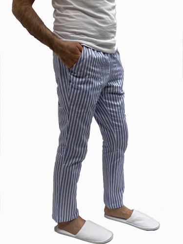 Pantalón Casual Blue Lines + Tapaboca Bicapa Onpants