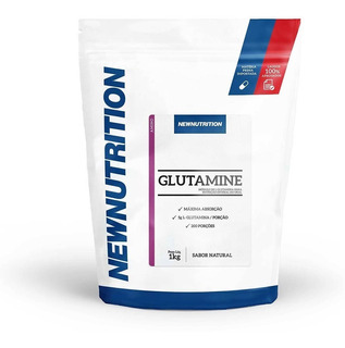 Glutamina 1kg Newnutrition - Frete Grátis!