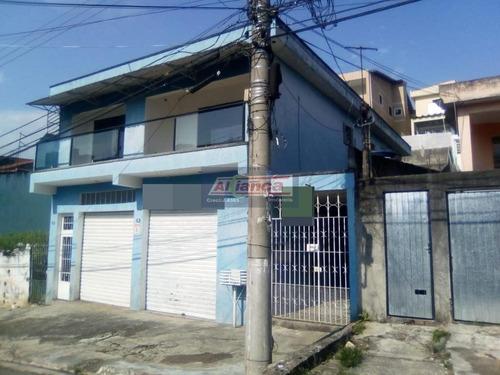 Casa Com 2 Dormitórios À Venda, 240 M² Por R$ 700.000,00 - Parque Continental Ii - Guarulhos/sp - Ai8010