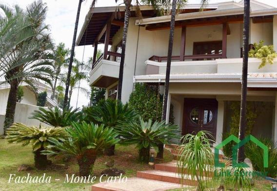Casa Residencial À Venda, Jardim Paiquerê, Valinhos. - Ca0161