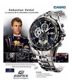Relógio Casio Edifice Ef-543d Sebastian Vettel