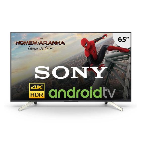 Smart Tv Led 4k Uhd 65 Sony Kd-65x755f Com 4k X-reality Pro