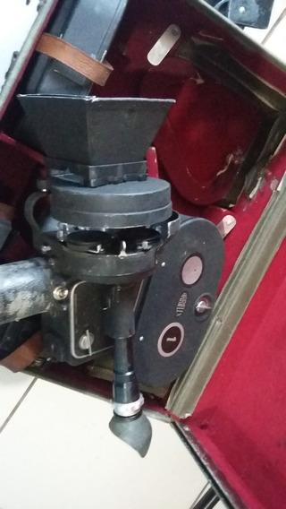 Camera Arriflex 35mm Funcionando Perfeita 2 Lentes Rolo Film