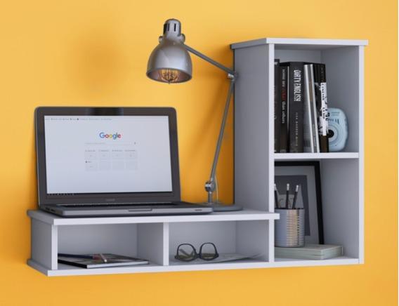 Escrivaninha Para Mesa De Computador Suspensa De Estudos