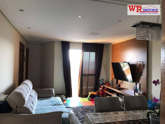 Cobertura 3 Dormitórios À Venda, 172 M² - R$ 490.000 - Vila Curuçá - Santo André/sp - Co0254