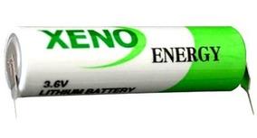 Bateria Xeno Xl-060f T1 3,6v Aa Lithium Com 2 Terminais Pci