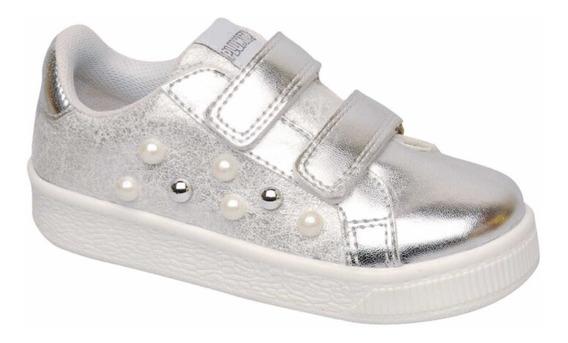 Zapatillas Plumitas Niñas Casual Perlas 3004