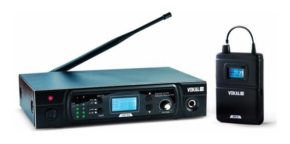 Monitor Retorno Sem Fio Vokal Kit Vmt50 /sem Fone