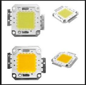 10x Super Led Chip 100w 36v Branco Frio 10 Unidades