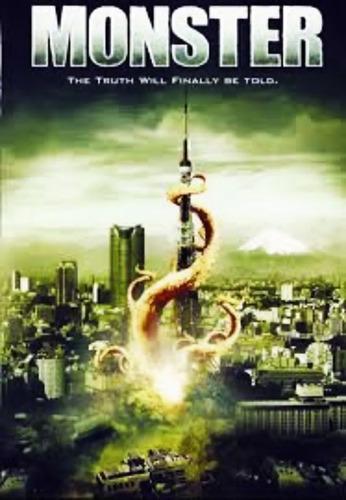 Imagen 1 de 4 de Monstruo / Dvd / Eric Forsberg / Yhosi Ando, Erin Sullivan