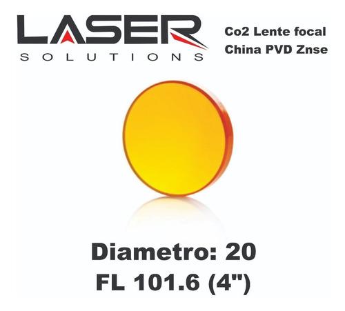 Lente Laser Co2 Diam 20 Mm Fl 38.1/50.8/63.5/76.2/101.6mm