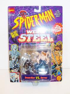 Toy Biz Spiderman Vs Smythe Die Cast Marvel Comics 1994