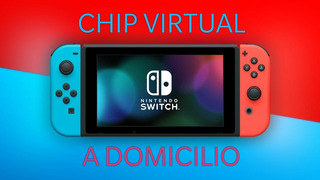 Chip Virtual Nintendo Switch + 3 Juegos
