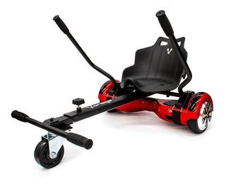 Skate eléctrico hoverboard Vorago HB-300 Rojo