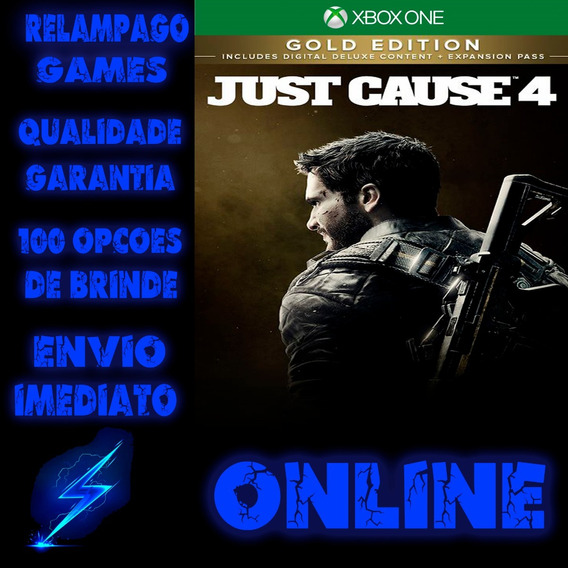 Just Cause 4 Gold Edition Xbox One Digital Online + Brinde