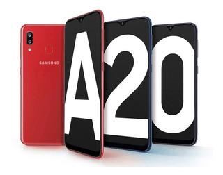 Samsung A20 32gb/local/cd22 Celulares/