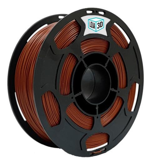 Filamento Pla Pro - Marrom - Loja 3d - 1.75mm - 1kg