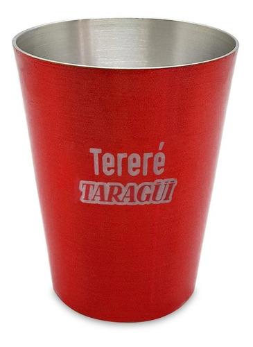 Vaso Para Tereré Taragüi Rojo