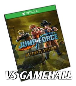 Jump Force Edição Suprema Xbox One Mídia Digital + Brinde