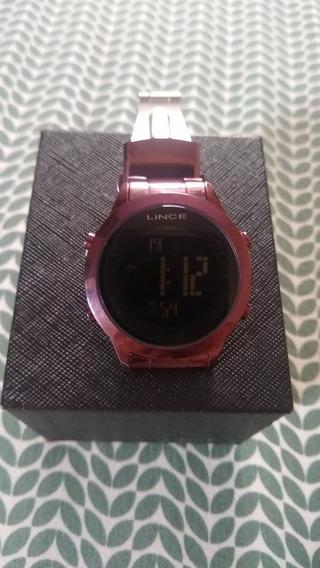 Relógio Lince Original Roxo.